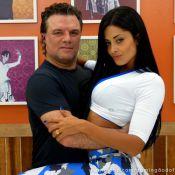 Adriano Garib ensaia para o 'Dança dos Famosos': 'Vou diminuir minhas medidas'