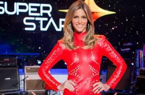'Superstar': Fernanda Lima aposta em vestido vermelho futurista de R$ 3.500