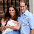 Kate e William ganharam o primeiro filho em julho de 2013