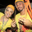 No dia 24 de abril, Fernando e Aline participaram juntos de uma micareta, na qual chegaram até a posar para fotos