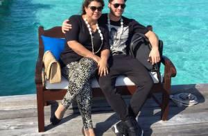 Preta Gil e Rodrigo Godoy chegam nas Ilhas Maldivas para lua de mel: 'Paraíso'