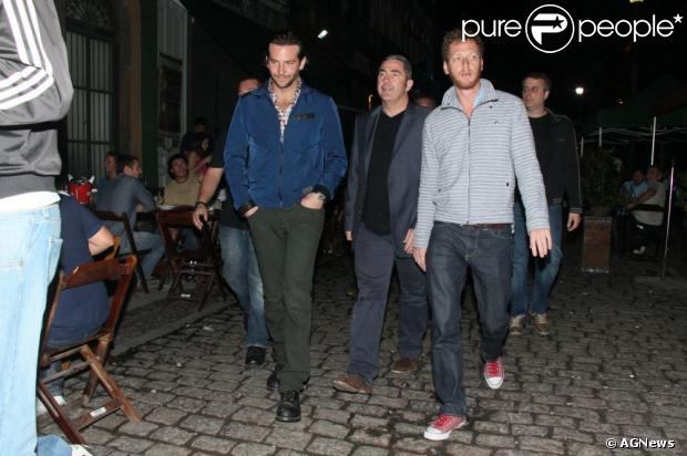 Bradley Cooper e elenco de 'Se beber, Não case - Parte III' curtem noitada na Lapa após coletiva do filme no Morro da Urca, em 29 de maio de 2013