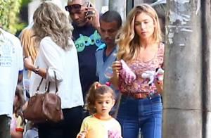 Grazi Massafera busca Sofia na escola após a filha passar o dia com Cauã Reymond