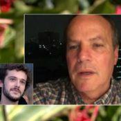 Jayme Matarazzo se emociona com declaração do pai, Jayme Monjardim: 'Vale ouro'