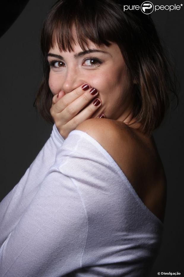 Maria Casadevall estreou nas novelas no papel de Patrícia em 'Amor à Vida'