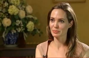 Angelina Jolie vai parar de atuar: 'Quero ficar em casa com meus filhos'