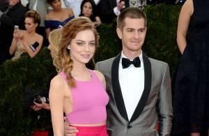 Emma Stone e Andrew Garfield são vistos juntos um mês após término do namoro