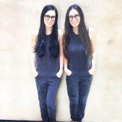 Demi Moore e a filha, Rumer, surgem quase idênticas em foto: 'Deslumbrantes'