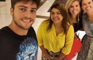 Preta Gil e Rodrigo Godoy vão às compras em Dubai na reta final da lua de mel