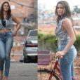 Bruna Marquezine tem esbanjando o corpão na novela 'I Love Paraisópolis', da Globo