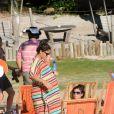Juliana Paes está grávida de 8 meses de seu segundo filho
