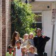 O casal tem 6 filhos: Maddox, adotado e nascido em 2001, Zahara, adotada e nascida em 2004, Shiloh Nouvel, nascido em 2006, Pax, adotado em novembro de 2003 e os dois gêmeos Vivienne Marcheline e Knox Leon, nascidos em 2008