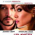 Ao lado do galã Johnny Depp, Angelina integrou mais um filme de ação: 'O Turista'