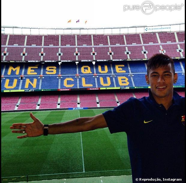 Após apresentação de Neymar no Barcelona 742a6a46f1b57