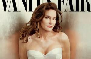 Ex-padrasto de Kim Kardashian, Bruce Jenner posa como mulher pela primeira vez