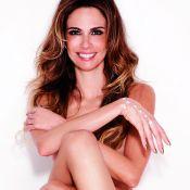 Luciana Gimenez posa nua e rebate críticas ao corpo: 'Amo ser magra'