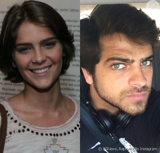 Isabella Santoni e Bernardo têm sido vistos juntos, de acordo com o jornal 'O Dia' desta segunda-feira, 15 de junho de 2015