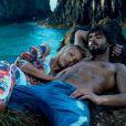 Marlon Teixeira fotografou ao lado de  Candice   Swanepoel