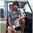 O top brasileiro é estrela da campanha verão 2015 da grife internacional H&M