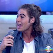 Rafael Vitti é surpreendido pelo pai ao participar do 'Encontro': 'Tá bonitão!'