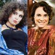 Regina Duarte, a Porcina de 'Roque Santeiro', atualmente é a Esther da novela 'Sete Vidas'