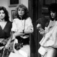 Yoná Magalhães (Matilde), Isis de Oliveira (Rosaly) e Claudia Raia (Ninon) em cena da novela 'Roque Santeiro', exibida entre 24 de junho de 1985 a 22 de fevereiro de 1986