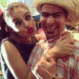 Paloma Bernardi e Thiago Martins também já se vestiram de caipiras e capricharam na maquiagem