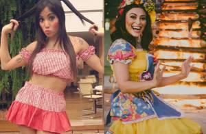 Inspire-se nos looks de Anitta, Juliana Paes e famosas para as festas juninas!