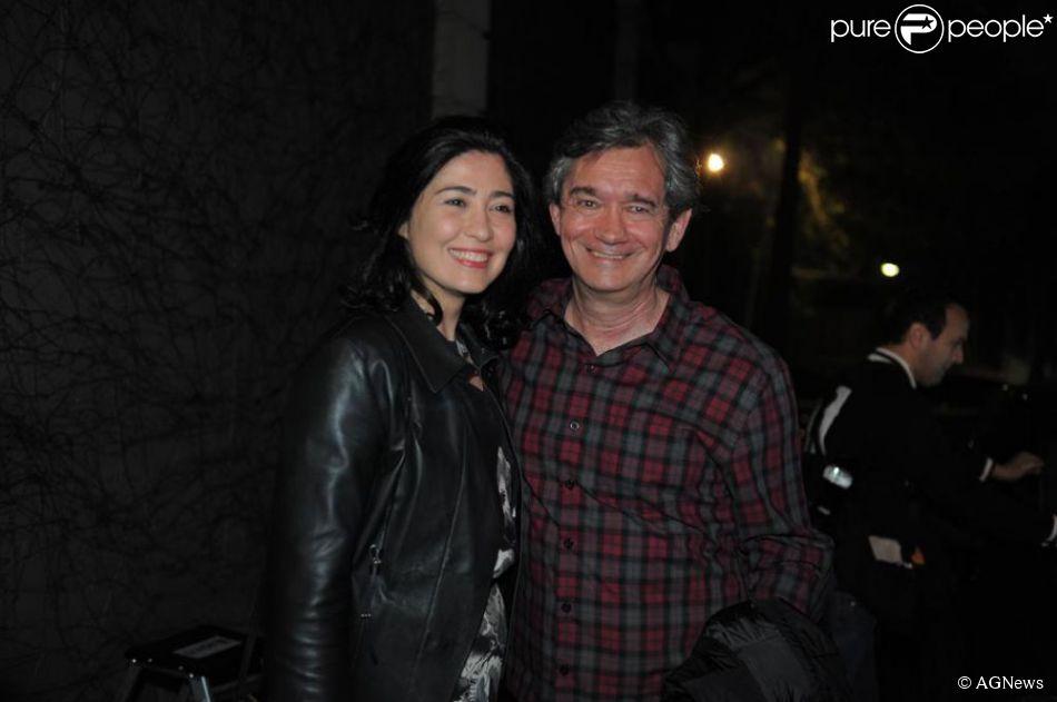 Fernanda Molina, mulher de Serginho Groisman, deu à luz Thomas no Hospital São Luiz, em São Paulo, nesta quarta-feira, 17 de junho de 2015