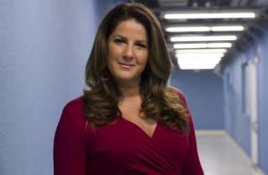 Christiane Pelajo, da Globo, enfaixa o rosto após acidente: 'Não consegue falar'