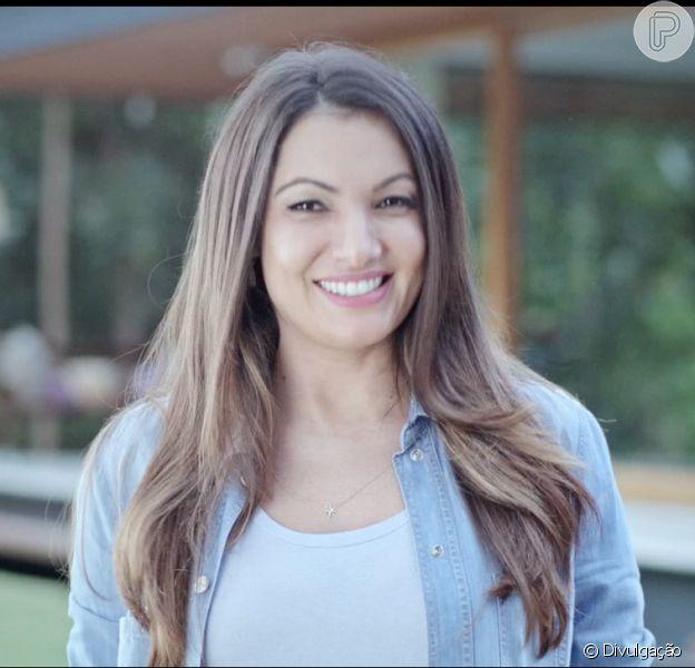 Patricia Poeta é a nova garota-propaganda da marca Ypê, de produtos de higiene e limpeza neste domingo, 21 de junho de 2015