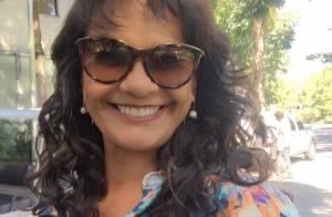 Solange Couto passa por angioplastia e se recupera no CTI após sofrer infarto