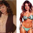 Outra atriz que além de enchimentos teve que engordar 7 quilinhos foi Fernanda Souza. Ela interpretava a meiga Carola, em 'O Profeta', novela exibida recentemente no 'Vale a Pena Ver de Novo'