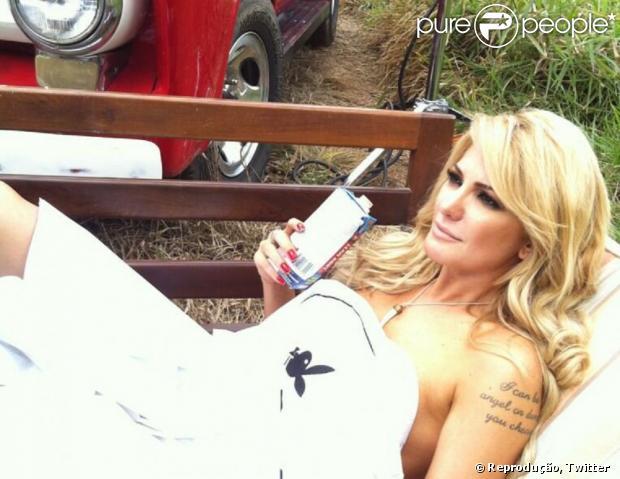 Antonia Fontenelle sobre ensaio na 'Playboy': 'Façam um check-up