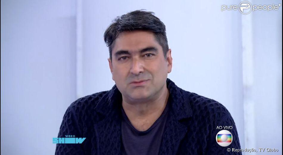 Zeca Camargo se desculpa no 'Vídeo Show' após declarações polêmicas sobre Cristiano Araújo: 'Muito respeito'.  Jornalista pediu desculpas nesta segunda-feira, 29 de junho de 2015