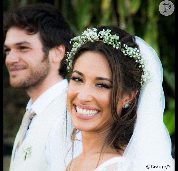 Giselle Itié e Emílio Dantas terminaram o casamento após dois anos juntos