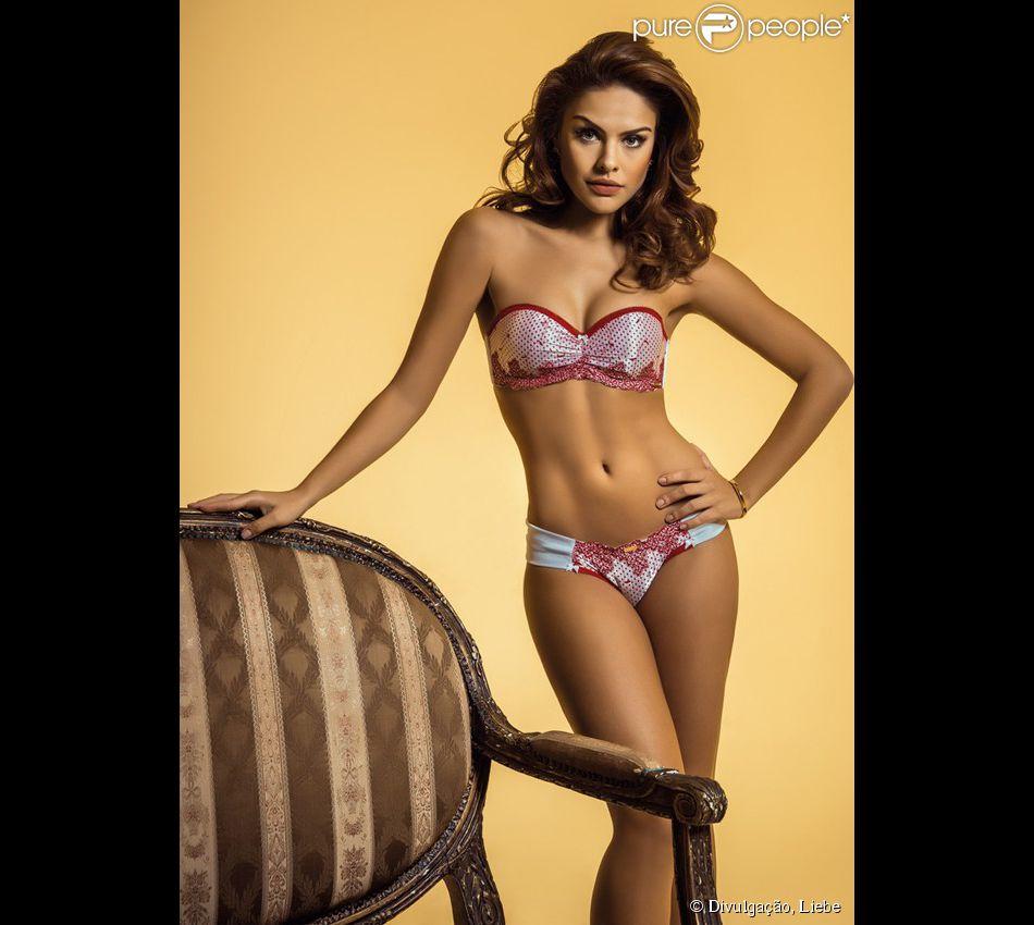 3bd78ce57 Paloma Bernardi tem inspirado muitas mulheres apaixonadas por lingeries  como garota-propaganda da marca Liebe. Olha que modelito mais fofo