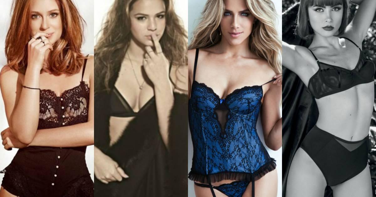 36786e429 Lingerie Day  inspire-se nos looks de famosas para ficar ainda mais sexy! -  Purepeople
