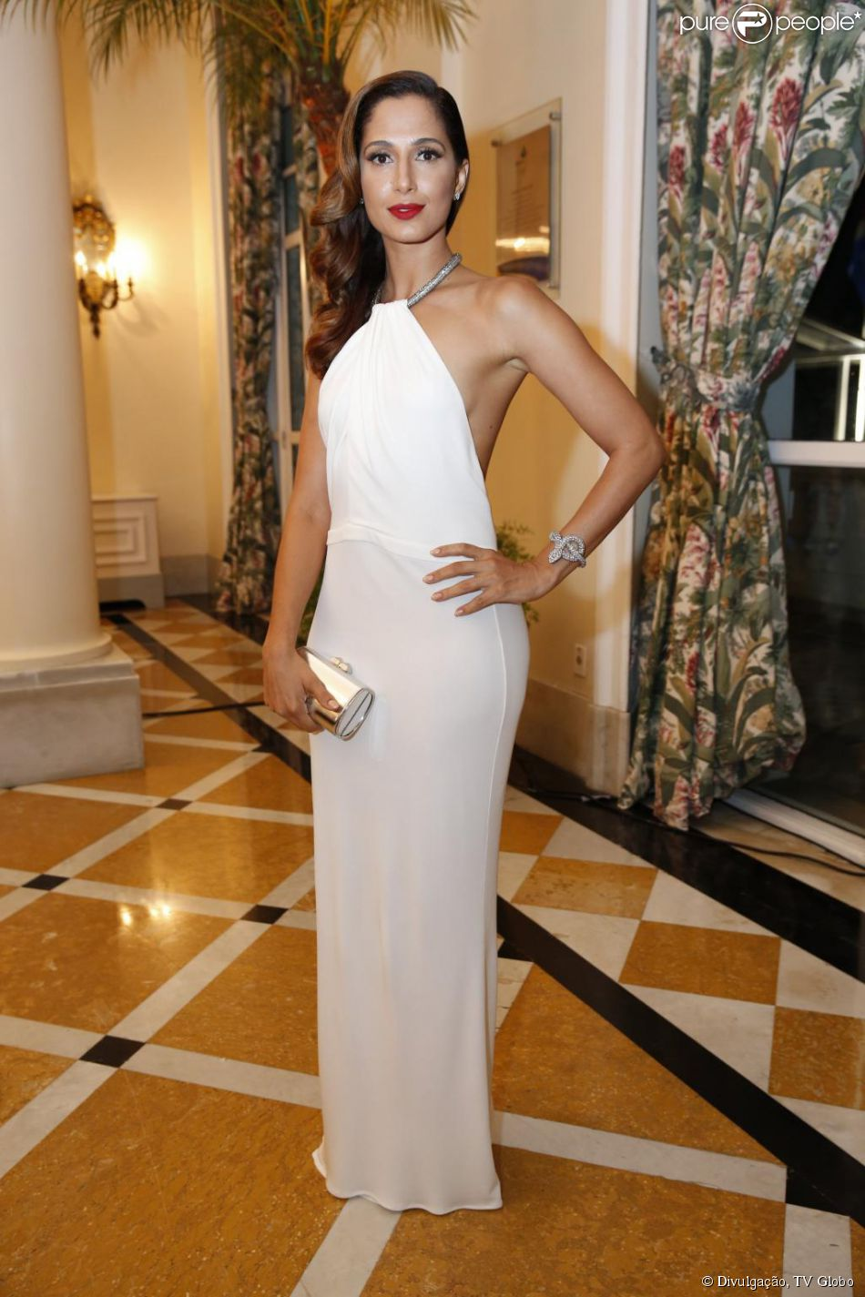 Camila Pitanga vai receber R$ 330 mil da revista 'Playboy', de acordo com o colunista Ancelmo Gois, do jornal 'O Globo', nesta quinta-feira, 2 de julho de 2015