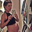 Mariana Gross deu à luz Antonio, seu primeiro filho, na Casa de Saúde São José, Zona Sul do Rio