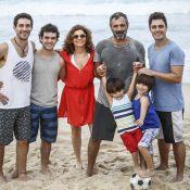 Debora Bloch, Domingos Montagner e elenco gravam últimas cenas de 'Sete Vidas'