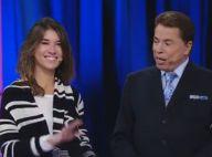 De surpresa, Silvio Santos testa a filha Rebeca Abravanel em programa do SBT