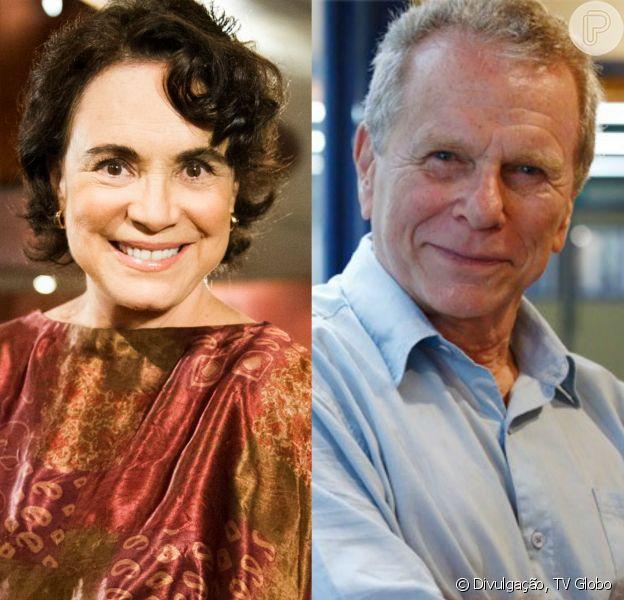 Final de 'Sete Vidas': Esther (Regina Duarte) e José Renato (Jonas Bloch) assumem namoro e terminam juntos