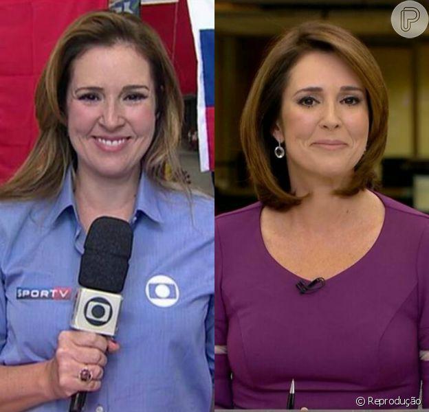 Renata Capucci, jornalista da Rede Globo, comemorou os 11 kg a menos nesta sexta-feira, 03 de julho de 2015