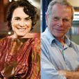 Esther (Regina Duarte) e José Renato (Jonas Bloch) também terminam juntos na novela 'Sete Vidas'