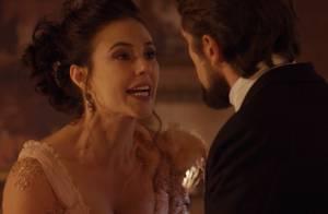 'Além do Tempo': Melissa confronta Felipe e garante que vai descobrir sua rival