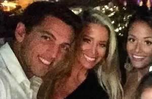 Danielle Winits surge em foto com o ex Amaury Nunes e seguidores cogitam volta