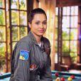 Isabel (Thaíssa Carvalho) pede transferência da base aérea de Vila dos Ventos, em 'Flor do Caribe'