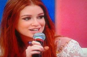 Marina Ruy Barbosa diz que só pensa positivo e fala de Nicole: 'Ela é carente'