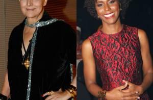 Betty Lago e Maria Júlia Coutinho são homenageadas em premiação no Rio